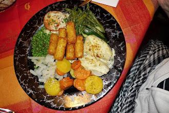 Photo: Fleischloses Menü