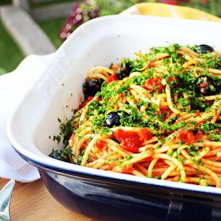 Italian Tomato Spaghetti with Bertolli
