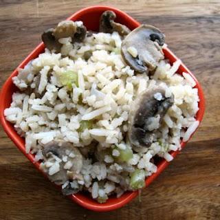 Rice & Mushroom Casserole.