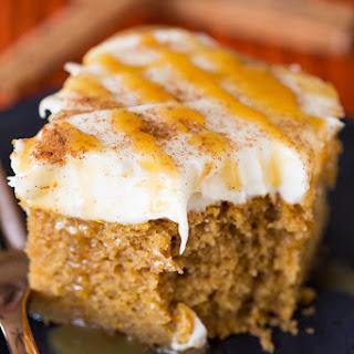 Pumpkin Spice Latte Snack Cake.