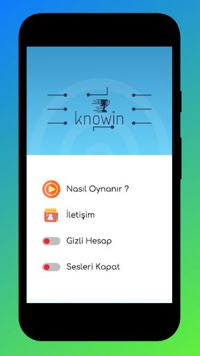 KnoWin Ödüllü Bilgi Yarışması screenshot 4