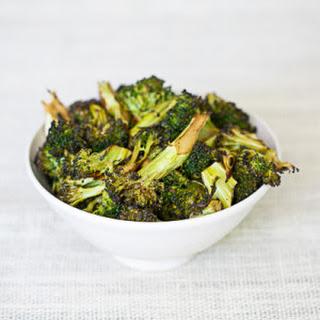 Roasted Balsamic Garlic Broccoli