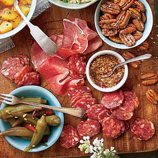 Easy Summer Appetizer Board.