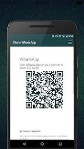 Clone WhatsWeb Pro v1.0.4 Cracked APK 3