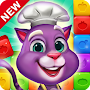 Blaster Chef: Culinary match & collapse puzzles APK icon