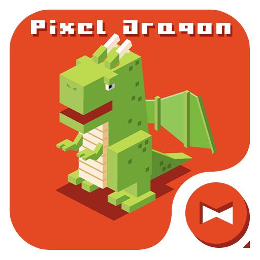 壁纸·图标 像素萌龙 個人化 App LOGO-APP試玩