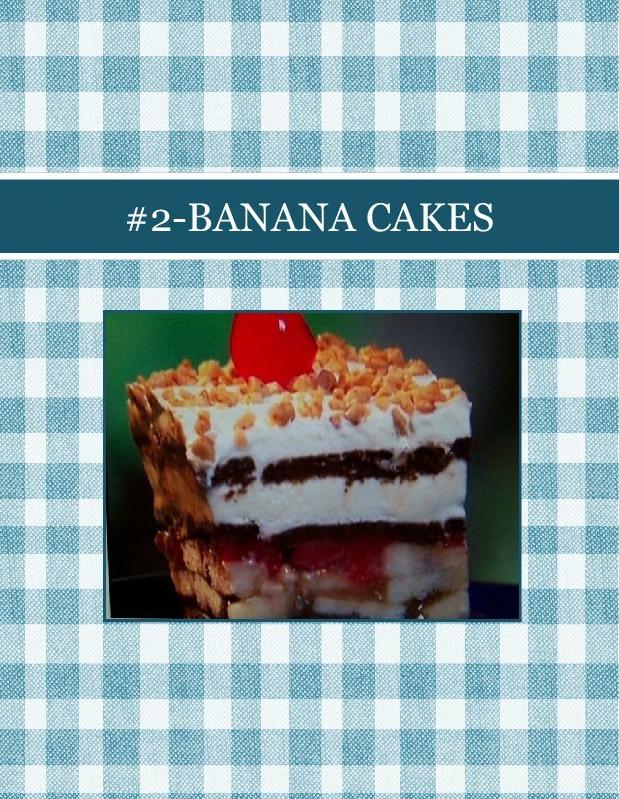 #2-BANANA CAKES