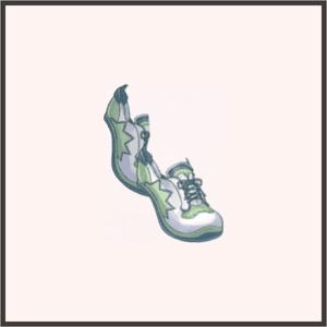 スニーカー(緑)