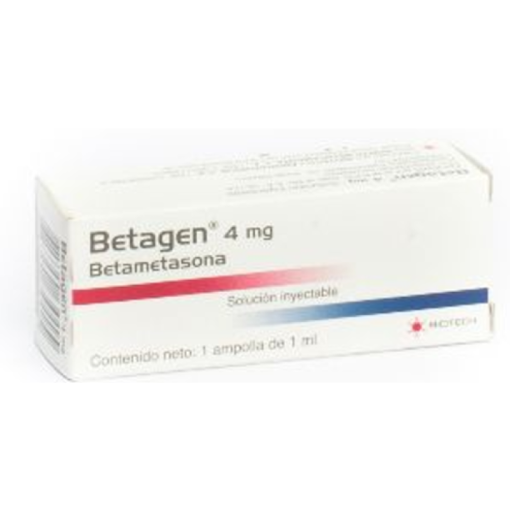 Betametasona Betagen 4mg 1 Ampolla  Biotech