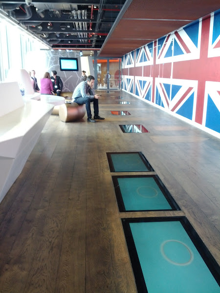 Photo: Google London lobby