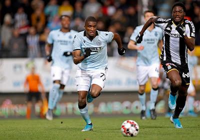 """Le remplaçant de Rezaei a souffert contre Bruges: """"Mais j'ai le sentiment d'avoir fait un bon match"""""""