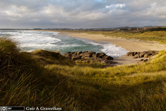 Photo: Brusand, Jæren - which is on the South Western coast of Norway (South of Stavanger)