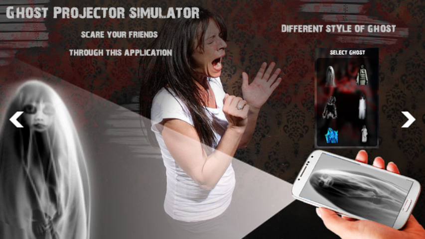 android Ghost Projector Simulator Screenshot 2