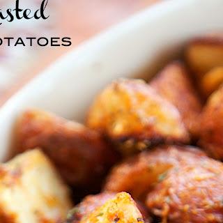 Garlic Parmesan Roasted Red Potatoes Recipe