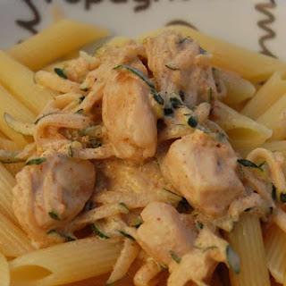 Spicy Tandoori Chicken and Noodles.