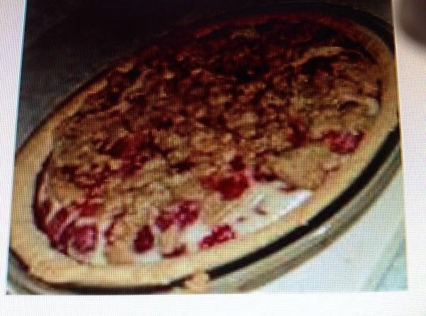 Sour Cream Raspberry Pie Recipe