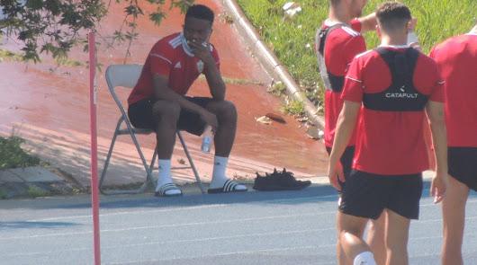 Pendientes de los lesionados Kaptoum, Jonathan y Aguza