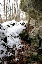 Photo: A Szentendrei-barlang bejárati szakasza.