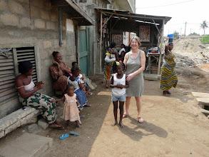 Photo: la petite voisine Lucrèce va être parrainée