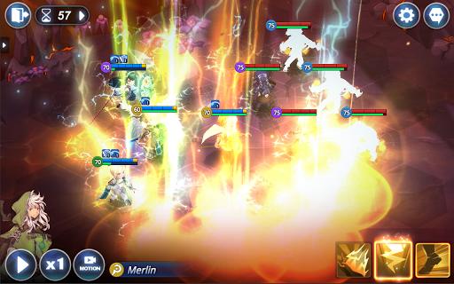 Kingdom of Hero : Tactics War apkdebit screenshots 7