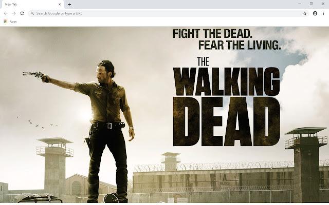 The Walking Dead New Tab