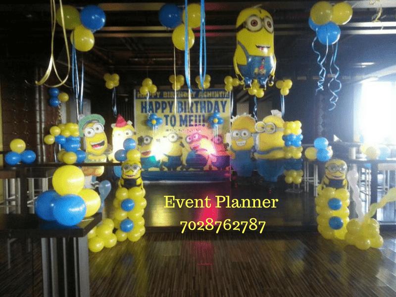 Birthday Decoration Balloon decoration in pune We offer Birthday