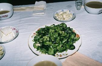 Photo: 03505 シリンホト郊外/観光ゲル/食事