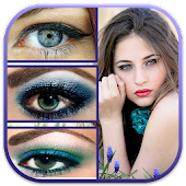 Stepwise Eye Make Up Tutorials