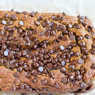 Pumpkin Chocolate Chip Bread (gluten free)