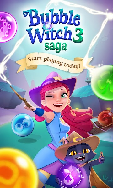 Bubble Witch 3 Saga v2.4.7 [Mod]