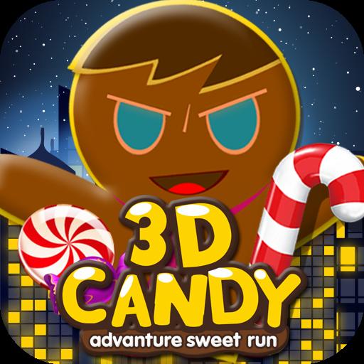 3D Candy Man World Run (game)