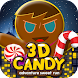 3D Candy Man World Run