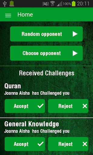 Islam Quiz Challenge 2 players