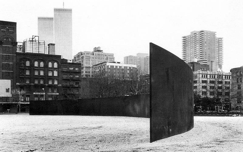 """""""St. John's Rotary Arc,"""" 1980–1987, St. John's Park, NYC."""