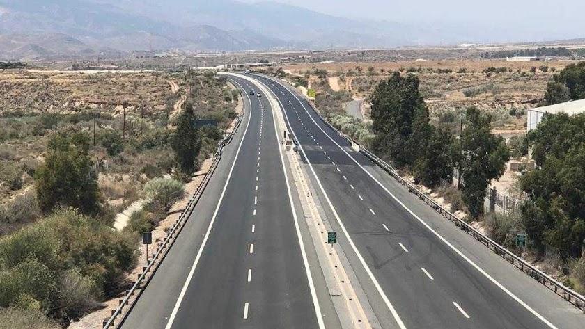 La Autovía del ALmanzora ha sufrido innumerables retrasos y posposiciones desde proyección en 1985.
