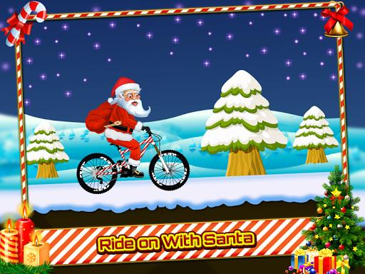 Santa Bike Rider