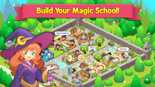 Magic School Story MOD (Unlimited Gems) 1