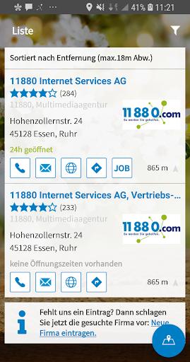 11880.com - Telefonbuch & Anruferkennung 8.4.0 screenshots 2