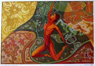 Photo: Freie Gedanken, Öl, 2005