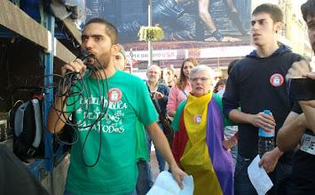 Photo: Tohil Delgado. Secretario General del Sindicato de Estudiantes