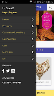 Online Jewellery Bazar- screenshot thumbnail