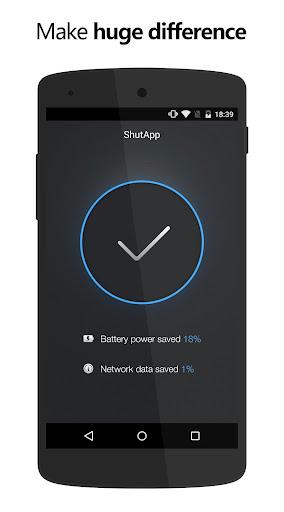 ShutApp - Real Battery Saver screenshot