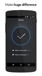 ShutApp - Real Battery Saver Screenshot