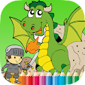 Dragon Coloring Book For Kids icon