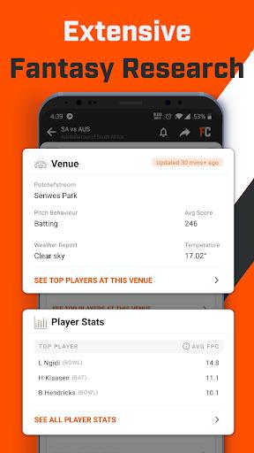 FanCode: Cricket Live Stream & Sports Live Scores 3.28.0 screenshots 3
