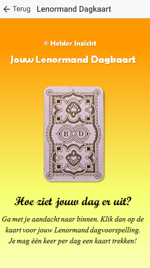 Gratis Tarot, Orakels & Horoscopen- screenshot