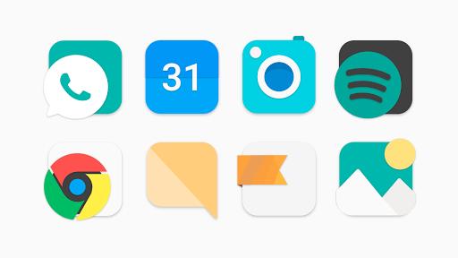 flat evo - icon pack screenshot 2