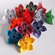 flower origami icon