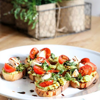 Caprese Salad Avocado Toast Recipe