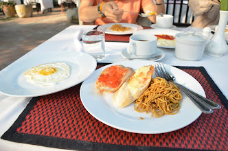 Photo: อาหารเช้าสุดไฮโซ